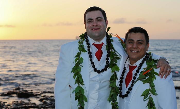 gay wedding in Maui