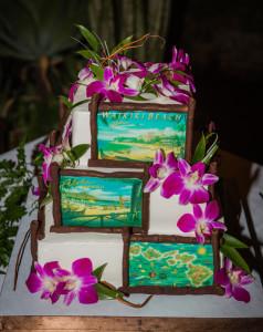 Maui weddings Cakes