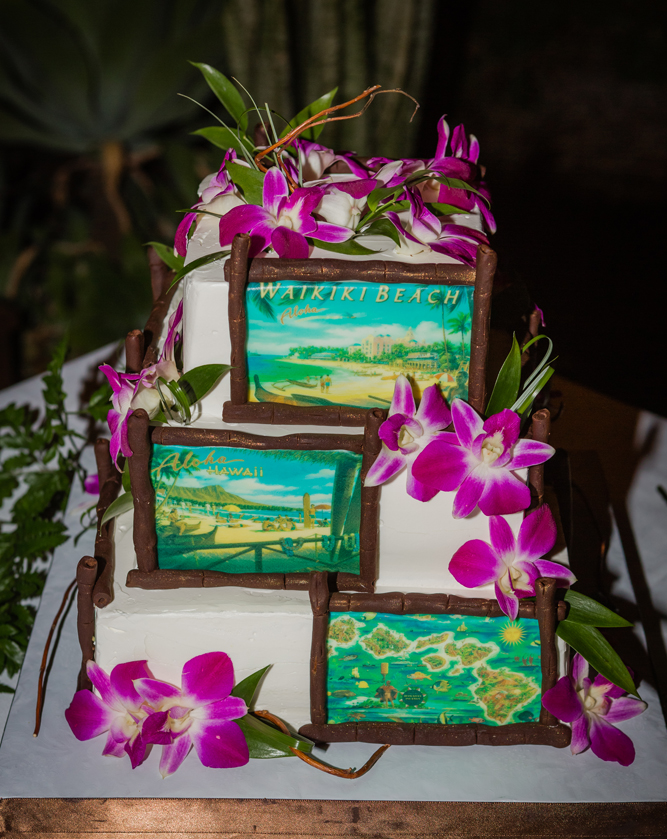 Maui Weddings Cakes